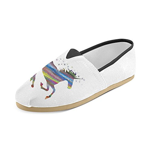 Interestprint Dag Av De Døde Halloween Katter Loafers Casual Sko For Menn Kvinner Unicorn2