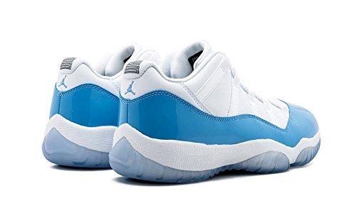 "Nike Mens Air Jordan 11 Retro Low ""Tuxedo"" Basketball Shoes"