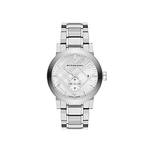 Burberry BU9900 42mm Silver Steel Bracelet & Case Anti-Reflective Sapphire Men's Watch