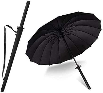 A Prueba de Viento Samurai Sword Sun Paraguas Ninja Vástago ...