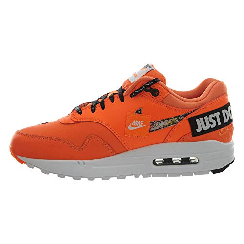 W Scarpe 1 Donna LX Orange Multicolore NIKE Basse Air Max White 001 Ginnastica da Black Total RwXqW1d