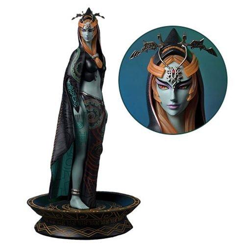 First 4 Figures The Legend of Zelda: Twilight Princess: True Form Midna Resin Statue ()