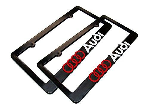 2 AUDI License Plate Frame
