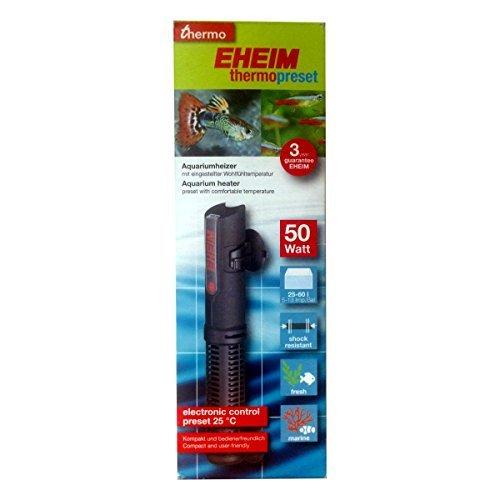 Eheim Chauffage Thermopreset pour Aquariophilie 50 W