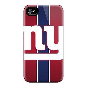 Case Of Iphone 4/4s With Custom New York Giants Design