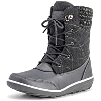 Polar Products Womens Snow Duck Winter Ankle Boots