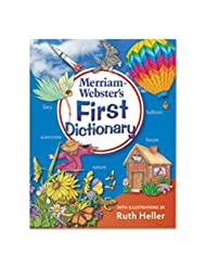 Merriam-Webster MER-274-1 First Dictionary with Illustrations...