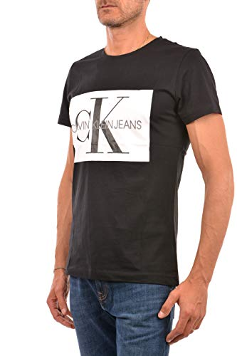J30j307843 Box Jeans Monogram Uomo Logo Canotte E T Calvin Black shirt Klein 4wIx1