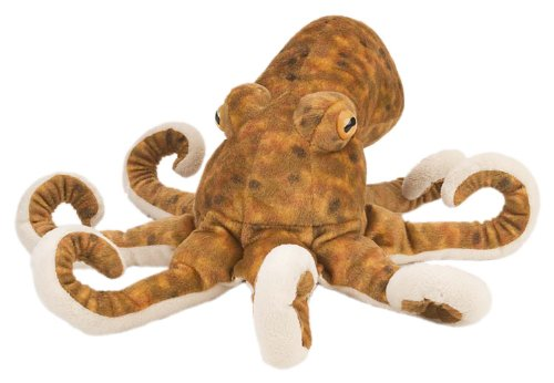 Wild Republic Octopus Plush, Stuffed Animal, Plush Toy, Gifts for Kids, Cuddlekins 12 Inches from Wild Republic