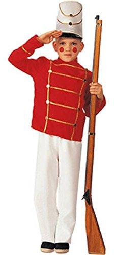 [Wooden Toy Soldier Kids Costume] (Toy Soldier Hat)