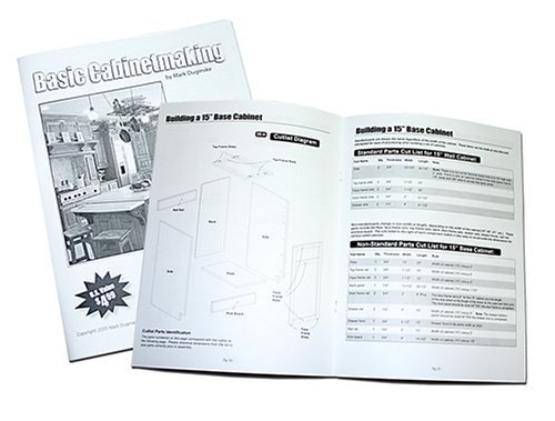 Cabinet Makers Kit! Kreg MD-CAB01 Cabinetmaking Booklet, Cabinet DVD & TWO Trim DVDs! (Cabinet Maker Tools compare prices)