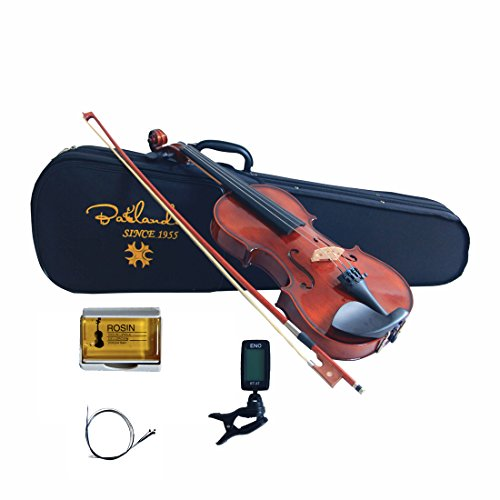 Bailando 1/4 Size Handmade Solid Wooden Violin Starter Kit – Natural