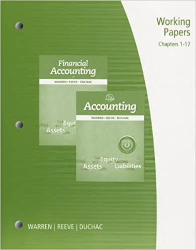 Working papers chapter 1 17 for warrenreeveduchacs accounting working papers chapter 1 17 for warrenreeveduchacs accounting 25th and financial accounting 13th 25th edition fandeluxe Image collections
