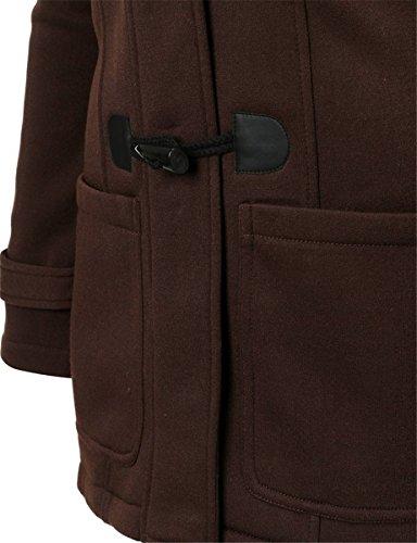 f5e07d7c8c74 ... EVERY Damen Kapuzenjacke Winterjacke Wintermantel Steppjacke Lange  Parka Outwear Jacke Mantel Oberbekleidung Coffee cXVFp