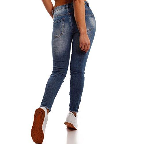 Femme Bleu Slim Fashion Young Jeans Jeans Uni F7HIxwv