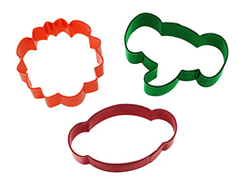 - Wilton Jungle Pals Cookie Cutter Set, 3-Piece