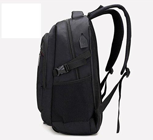 Addora Rucksack Laptoptasche Schulrucksack Wasserdicht Daypack Für Männer Frauen Arbeit Reisen College - 20L Black U937br