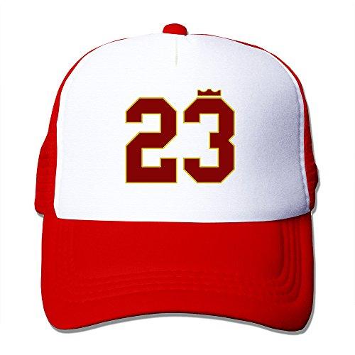 Handson Unisex Two-toned LJ #23 Basketball Player Hip Hop Cap Hats - Online Lululemon Outlet