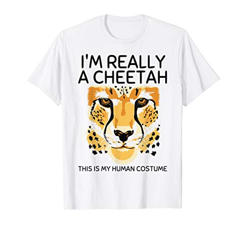 Really Cute Halloween Costumes Ideas (This Is My Human Costume I'm Really A Cheetah Cute)