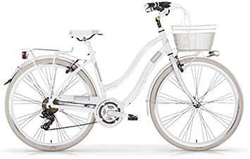 Bicicleta MBM VINTAGE para mujer, mujer, blanco perla (ral 1013 ...