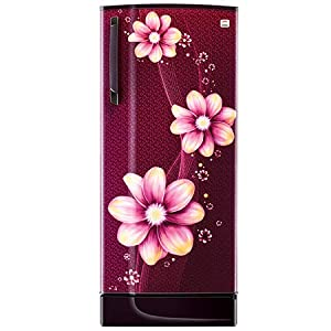 Godrej 221 L 3 Star With Inverter Single Door Refrigerator (RD EDGESX 236C 33 TAI PL WN, Pearl Wine)