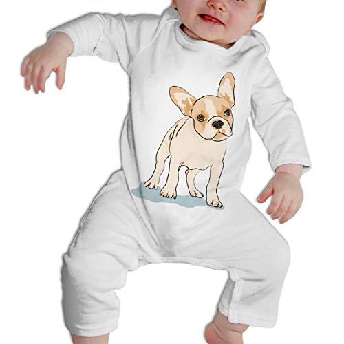 CARRYFUTURE French Bulldog Long Sleeves Bodysuit Toddler Short-Sleeve