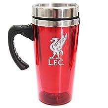 Official Football Team EPL Gift Liverpool F.C. Aluminium Travel Mug
