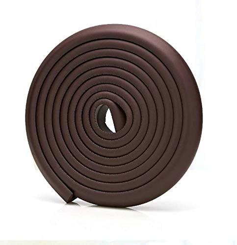 SCXCOPIDO Baby Corner Protectors Guards Edge,Furniture Corner Edge Protector Cushion,Safety Baby Table Corner Cover Brown (16.4ft) from SCXCOPIDO