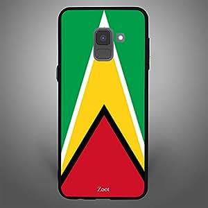 Samsung Galaxy A8 Plus Guyana Flag