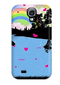 2015 2199142K41135620 Protective Case For Galaxy S4(love Drops)