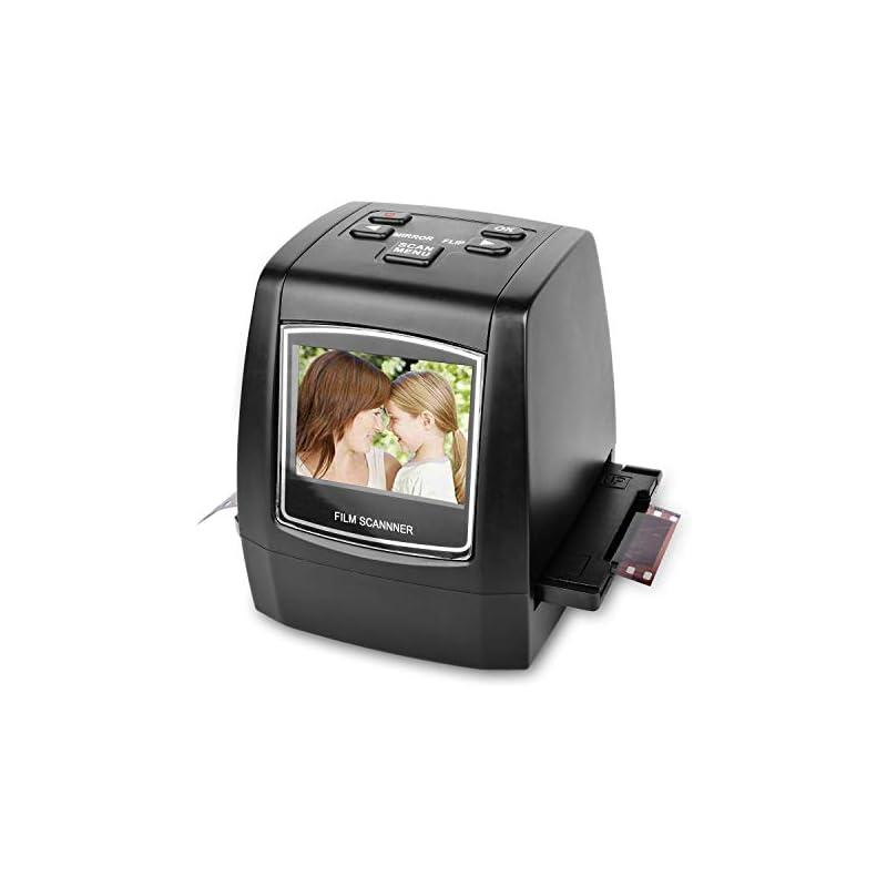 22MP All-In-1 Film & Slide Scanner , 35mm 135 110 126 and Super 8 Films/Slides/Negatives Converter , Impressive 128MB Built-in Memory