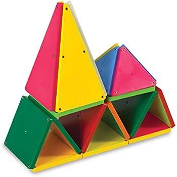 Magna-Tiles 02300 Solid Colors 100 Piece Set