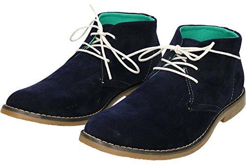 jwf Lace Up Desert Ankle Boots Navy aq7OG