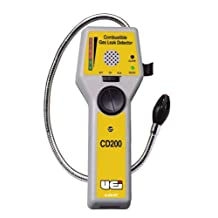 UEI Test Equipment CD200 Combustible Gas Leak Detector with Carry Case