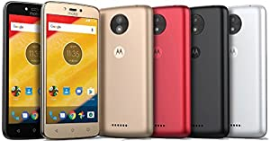 Motorola Moto C 4G LTE Unlocked XT1758 Quad Core 16GB Android 7.0 Dual Sim 5 Inch International Version