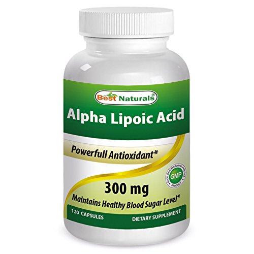 #1 Alpha Lipoic Acid 300 mg 120 Softgels by Best Naturals