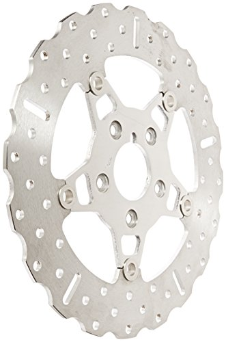 """EBC Brakes FSD011 2"""" Stainless Steel Front Wide Band Brake Rotor with 5 Button Full Floater"""