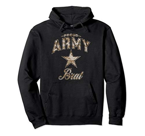 Army Brat Hoodie (Camo) for Women and -