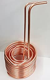 Quick Chill Copper Immersion Chiller Triple Coil 1/2 inch & 3/8 inch 50 Feet