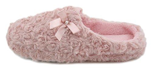 Donna Rosa rosa Rosa Slumberzzz Pantofole 0nSpC4