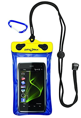 dry-pak-dp-46-case-for-cellphones-gps-and-mp3-yellow-blue