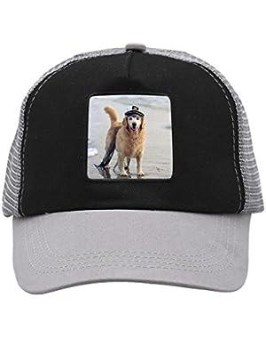 Unisex Dog Sea Labrador Shiba Inu Adjustable Classic Hiphop Hat Baseball Cap Snapback Dad Hat