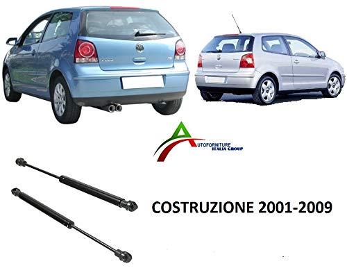 COPPIA MOLLE A GAS COFANO POSTERIORE DAL 2001 AL 2009