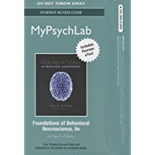 NEW MyPsychLab with Pearson eText -- Standalone Access Card -- for Foundations of Behavioral Neuroscience (9th Edition)