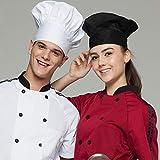 Adjustable Chef Cap Cooking Kitchen Hat Food
