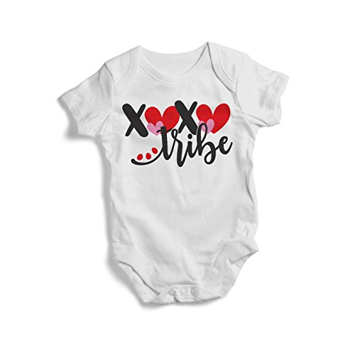 Promini Colourful XOXO Tribes Baby Bodysuit Cute Infant One-Piece Bodysuit Baby Romper Best Gift for Baby