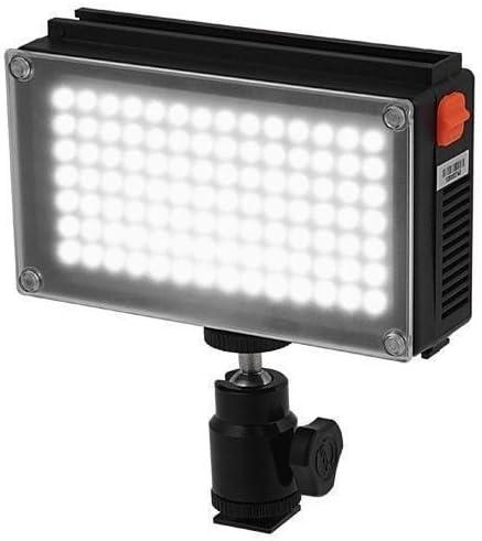 KINOSUN LED98 on camera Light 5600K daylight with battery LED98A Fotodiox photo video