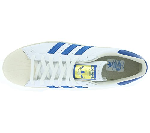 Originals Blanc Adidas 49 G61068 1 Taille Superstar Formateurs 3 80s wPxAxqOB