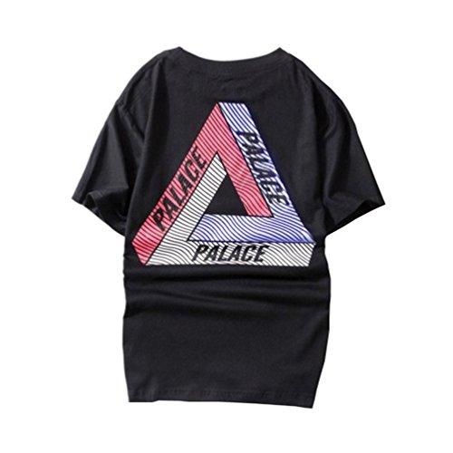 a9bd5a1b2f08a0 Parakeet Men Black Summer Skateboards T Shirts Shorts Sleeve Palace T shirts