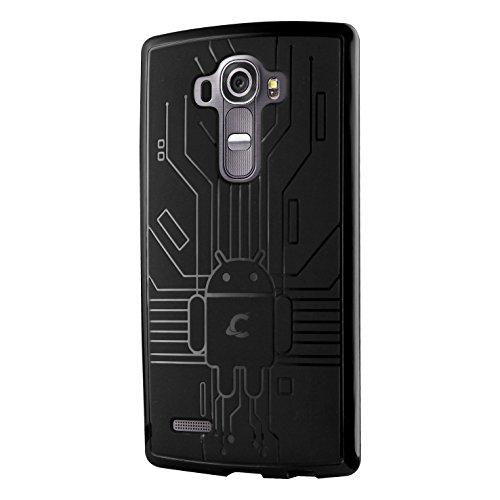CruzerLite Bugdroid Schlussfall für LG G4 schwarz